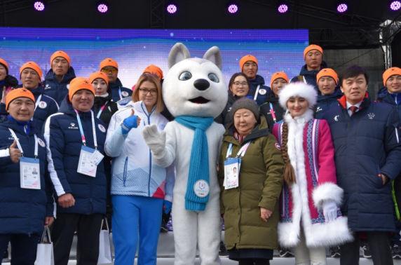 Дэлхийн оюутны спортын өвлийн XXIX Универсиад наадам эхэллээ