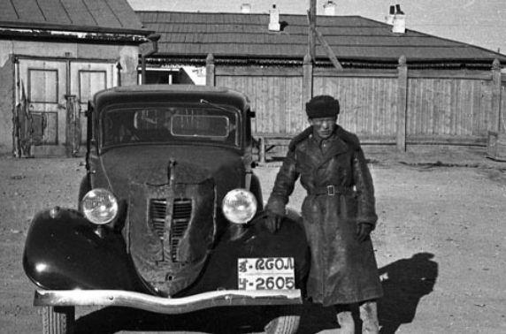 Монгол Улсын жолооны анхны дүрэм