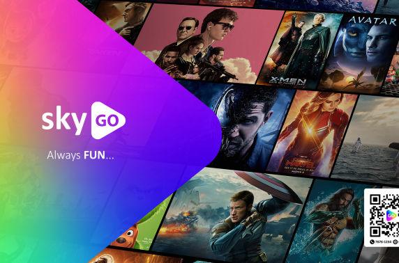 Хүссэн бүх контентоо SkyGO-өөс үзээрэй!