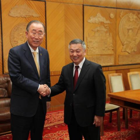 """""""Азийн төлөөх Боао форум""""-ын 20 жилийн ойн үйл ажиллагаанд Монгол Улсын Ерөнхийлөгч Х.Баттулгыг урилаа"""