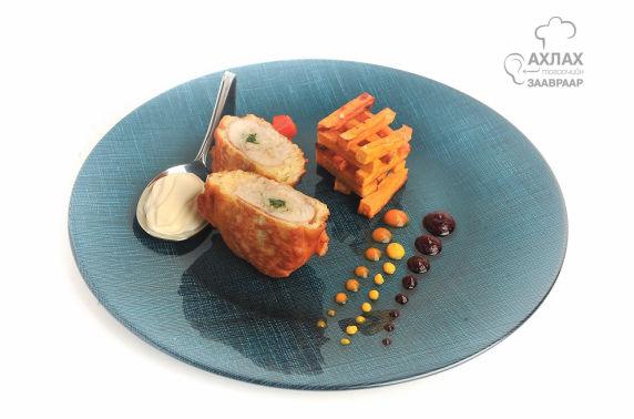 Ахлах тогоочийн заавраар: Шарсан төмстэй, бүрж шарсан загас