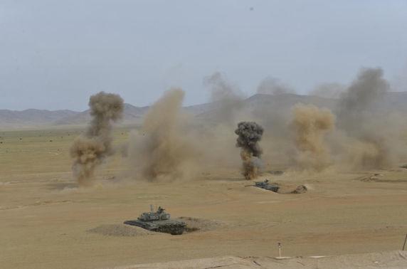 LIVE: Монгол, Оросын зэвсэгт хүчний хамтарсан байлдааны хээрийн сургууль болж байна
