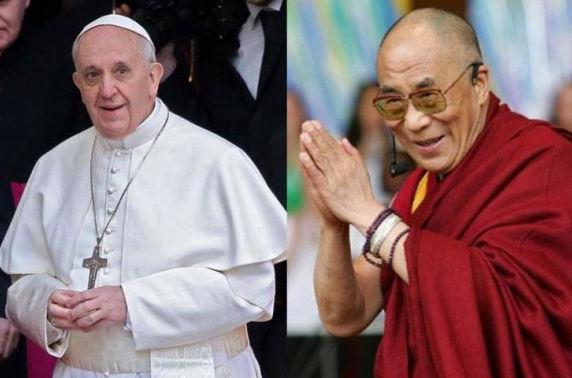 Пап, Далай лам ба Талибан