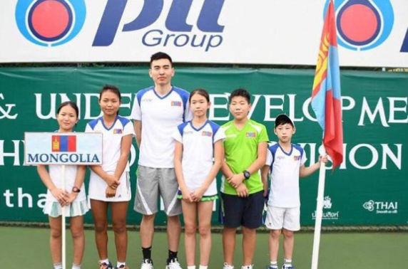 Өсвөрийн талбайн теннисийн Азийн аваргаас Монголчууд хоёр мөнгө, дөрвөн алтан медаль хүртлээ