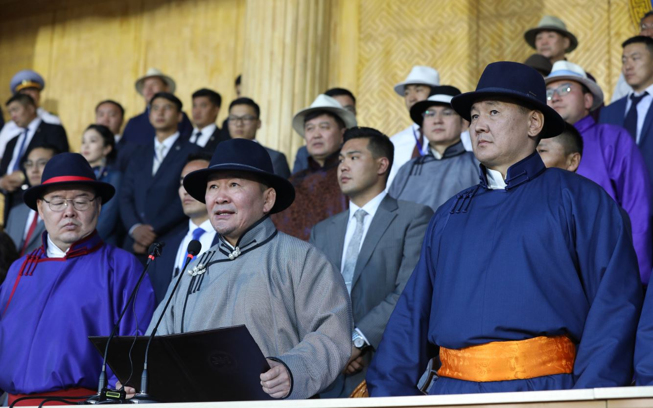 Х.Баттулга: Монгол түмний дэлгэр цэнгэл өндөрлөж, өрнүүн хөдөлмөрийн цаг айсуй