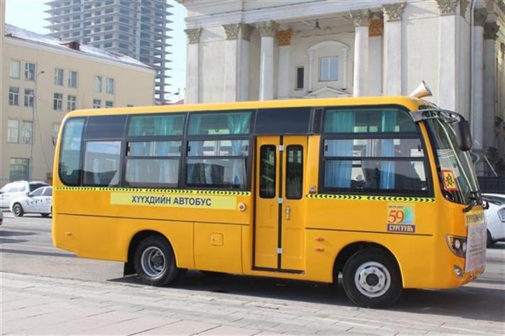 """Танилц: Маргаашаас явж эхлэх """"Хүүхдийн автобус""""- ны 33 МАРШРУТ"""