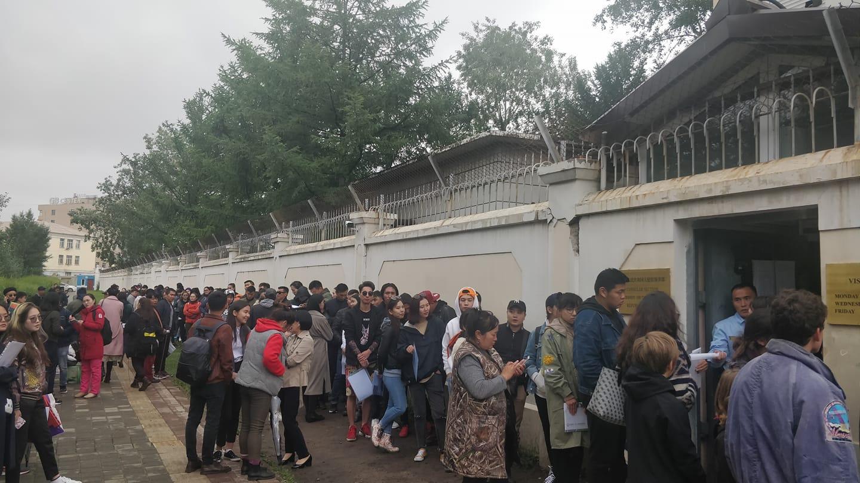 Хятадын элчингийн гадаах дүрвэгсдийн хуаран