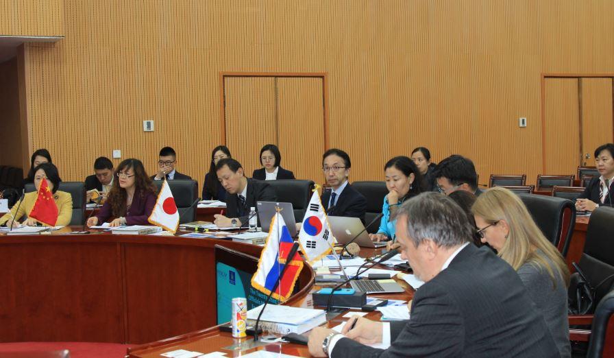 Зүүн хойд Азийн байгаль орчны ахлах албан тушаалтнууд хуралдаж байна