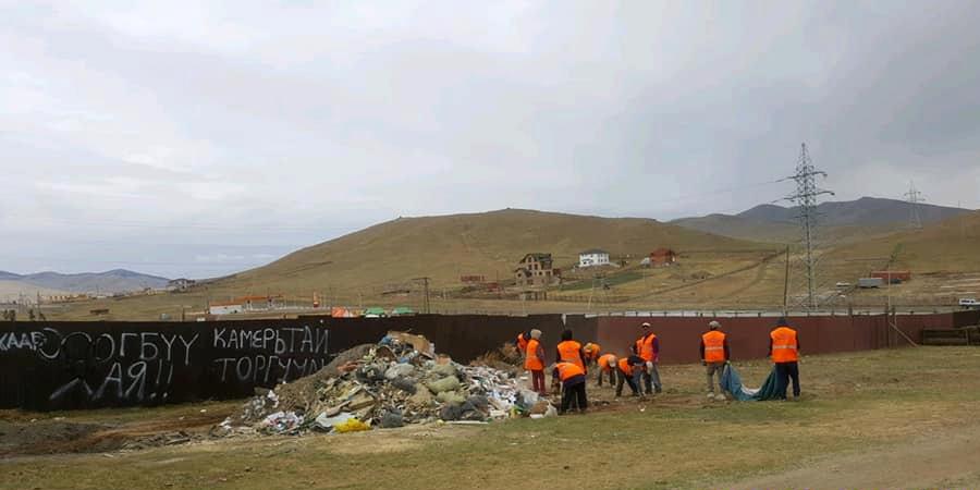 Бүх нийтийн их цэвэрлэгээгээр 851 тн хог хаягдлыг цэвэрлэлээ