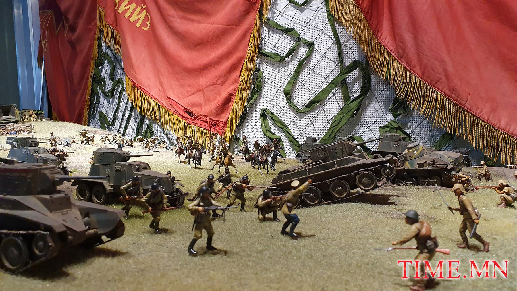 ФОТО: Халх голын дайныг биет загвараар бүтээсэн үзэсгэлэнг энэ сарын 22-нд дэлгэнэ