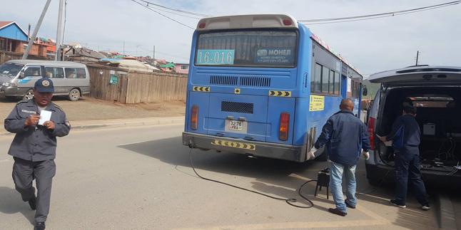 Нийтийн тээврийн автобуснуудад явуулын оношилгоогоор үйлчилж байна